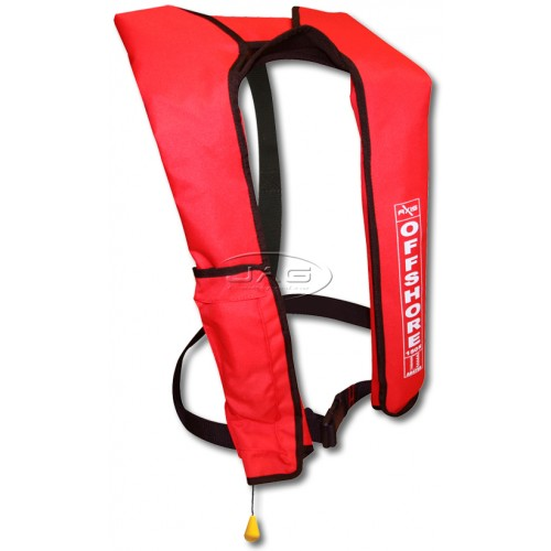 Axis Offshore Red Inflatable PFD 1 Lifejacket 150N