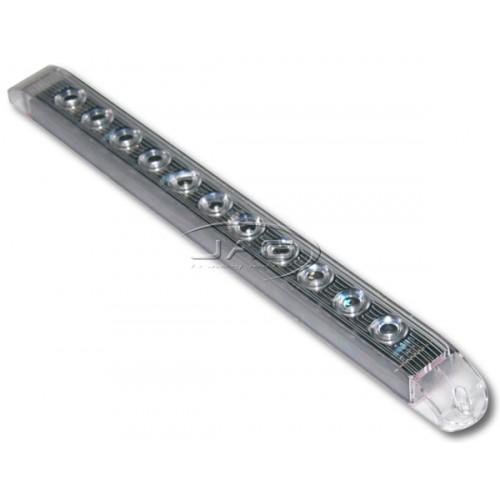 12V 11-Superflux White LED Reverse Strip Light