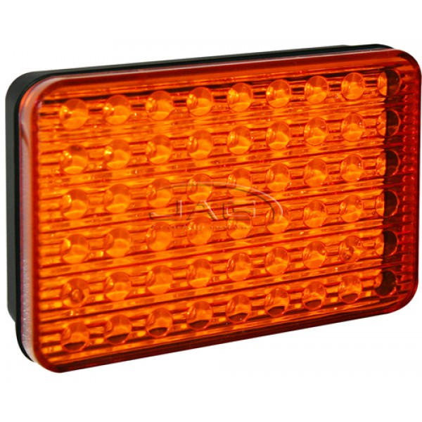 54-LED Amber Indicator Trailer Light 10-30V