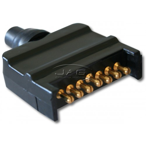 7 Pin Flat Male Trailer Connector Plug