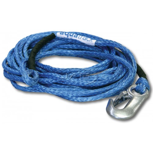 Dyneema SK-75 6M x 5mm Boat Trailer Winch Rope & Snap Hook