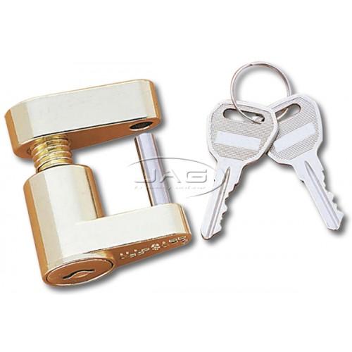 Compact Trailer Coupling Laser Lock