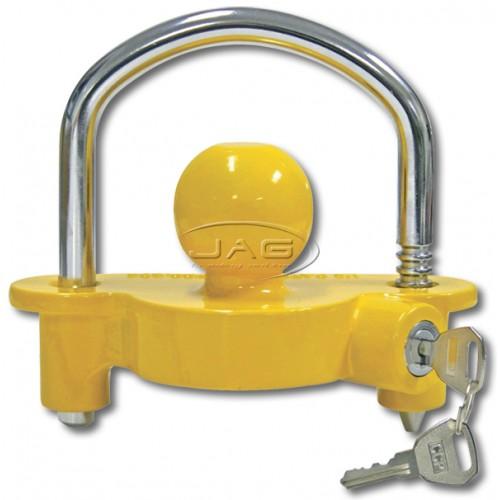 Universal Yellow Trailer Coupling Lock