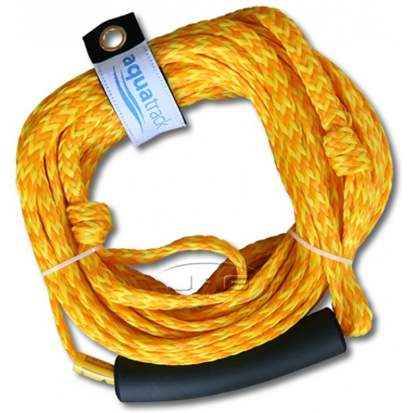 18M (60ft) Yellow Tube Rope with EVA Float